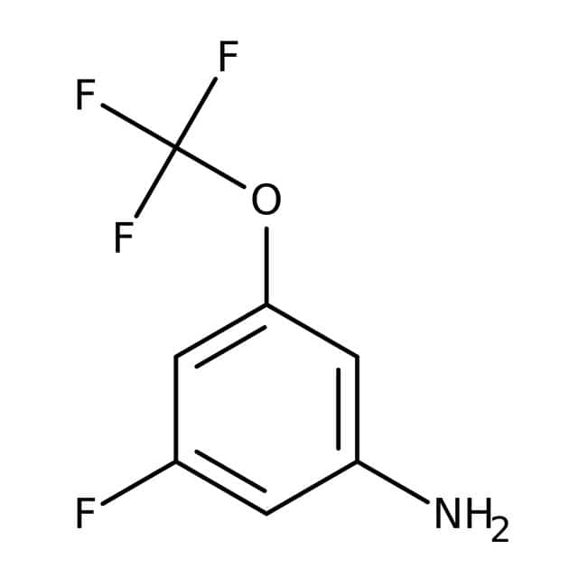 Alfa Aesar™3-Fluoro-5-(trifluoromethoxy)aniline, 97% 1g Alfa Aesar™3-Fluoro-5-(trifluoromethoxy)aniline, 97%