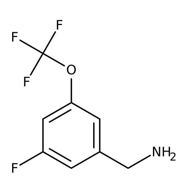Alfa Aesar™3-Fluor-5-(trifluormethoxy)benzylamin, 97% 250mg Alfa Aesar™3-Fluor-5-(trifluormethoxy)benzylamin, 97%