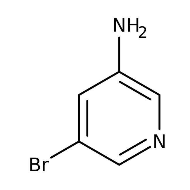 3-Amino-5-bromopyridine, 97%, ACROS Organics™