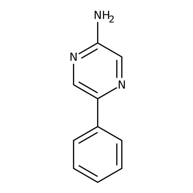2-Amino-5-phenylpyrazine, 98%, Acros Organics