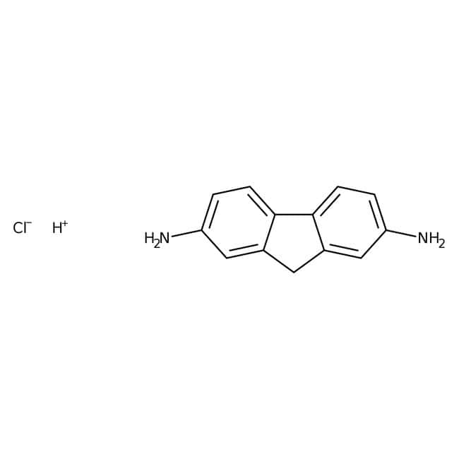 Alfa Aesar™2,7-Dihydrochloride de diaminofluorène, 97 % 5g Alfa Aesar™2,7-Dihydrochloride de diaminofluorène, 97 %