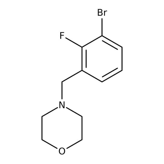 Alfa Aesar™4-(3-Bromo-2-fluorobenzyl)morpholine, 96%