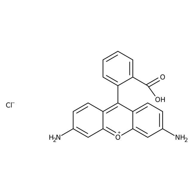 Rhodamine 110, 98+%, ACROS Organics™ Glass bottle; 2.5g Rhodamine 110, 98+%, ACROS Organics™