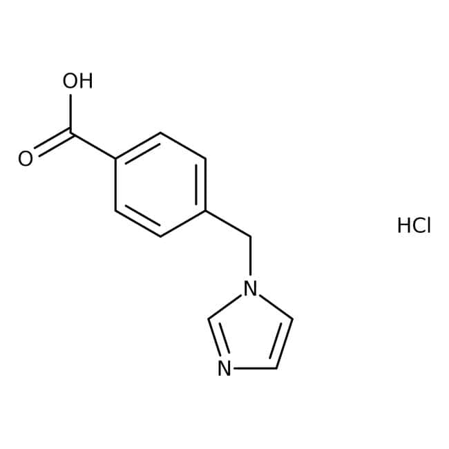 4-(1h-imidazol-1-ylmethyl)benzoic acid hydrochloride, Maybridge™ Amber Glass Bottle; 250mg 4-(1h-imidazol-1-ylmethyl)benzoic acid hydrochloride, Maybridge™