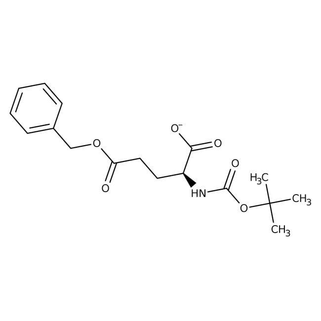 Alfa Aesar™N-Boc-L-glutamic acid 5-benzyl ester, 98% 25g Alfa Aesar™N-Boc-L-glutamic acid 5-benzyl ester, 98%