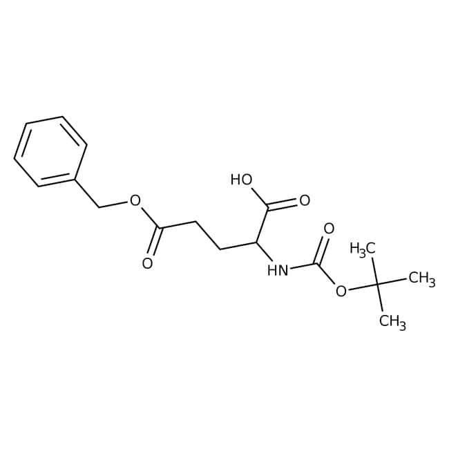 BOC-L-Glutamic acid 5-benzylester dicyclohexylamine salt, 99.5+%, ACROS Organics™