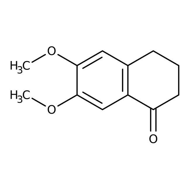 6,7-Dimethoxy-1-tetralone, 97%, ACROS Organics™ 5g 6,7-Dimethoxy-1-tetralone, 97%, ACROS Organics™