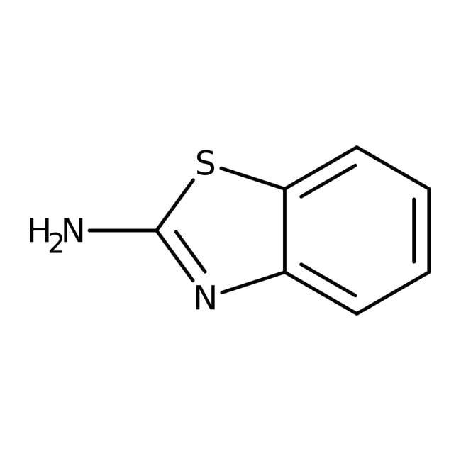2-Aminobenzothiazole, 97%, ACROS Organics™