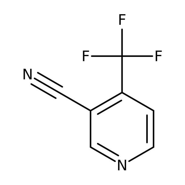 4-(Trifluoromethyl)nicotinonitrile, ≥95%, Maybridge Amber Glass Bottle; 1g 4-(Trifluoromethyl)nicotinonitrile, ≥95%, Maybridge