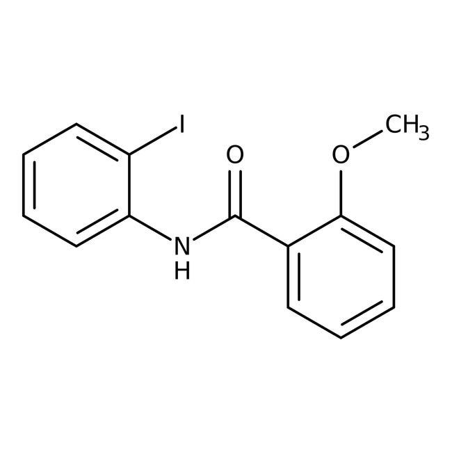 Alfa Aesar™N-(2-Iodophenyl)-2-methoxybenzamide, 97% 1g Alfa Aesar™N-(2-Iodophenyl)-2-methoxybenzamide, 97%