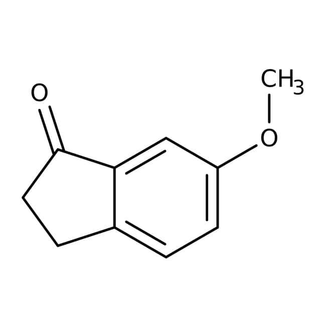 6-Methoxy-1-indanone, 98%, ACROS Organics™ 25g; Glass bottle 6-Methoxy-1-indanone, 98%, ACROS Organics™