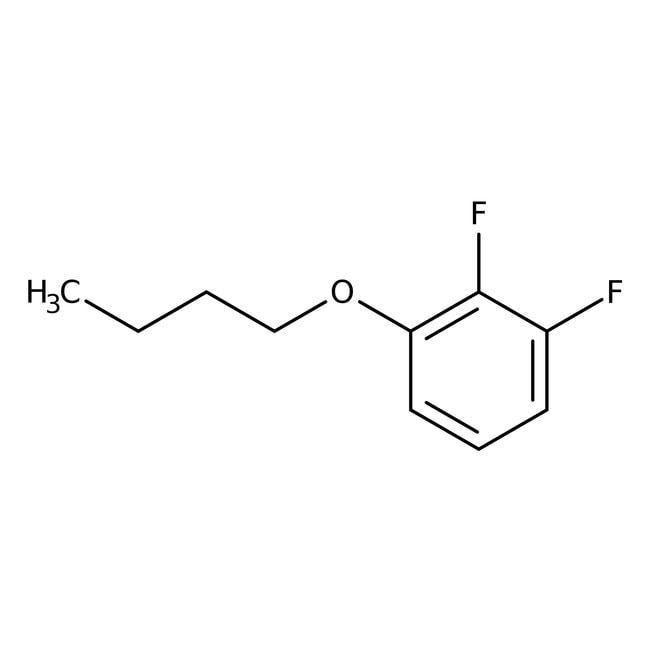Alfa Aesar™1-n-Butoxy-2,3-difluorobenzene, 95% 5g Alfa Aesar™1-n-Butoxy-2,3-difluorobenzene, 95%