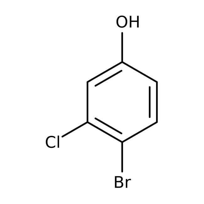 Alfa Aesar  4-Bromo-3-chlorophenol, 98%