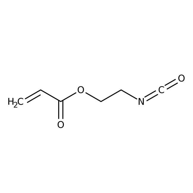 2-Isocyanatoethyl Acrylate (stabilized with BHT) 98.0+%, TCI America™