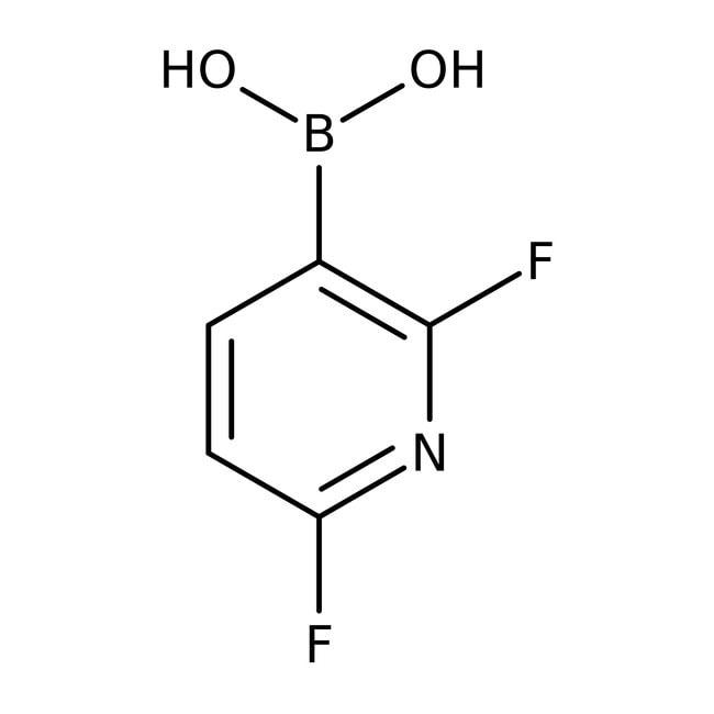Alfa Aesar™2,6-Difluoropyridine-3-boronic acid, 95% 250mg Alfa Aesar™2,6-Difluoropyridine-3-boronic acid, 95%