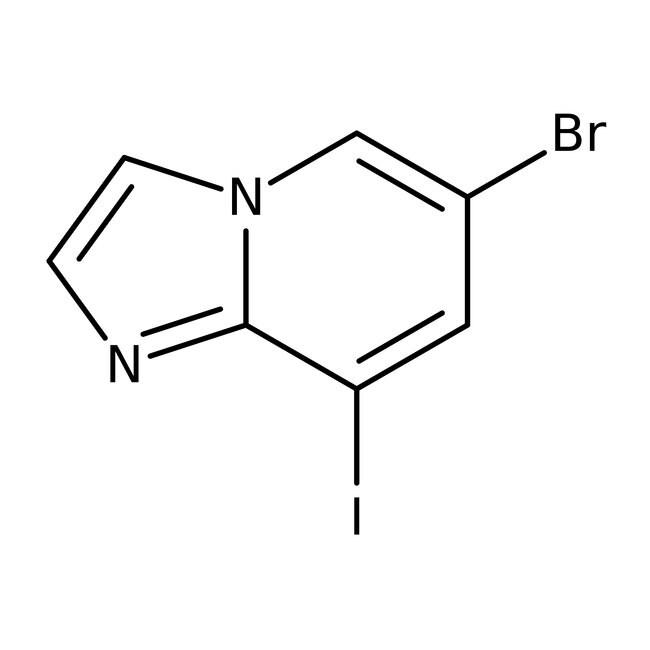 6-Bromo-8-iodoimidazo[1,2-a]pyridine, 95%, Alfa Aesar™ 5g 6-Bromo-8-iodoimidazo[1,2-a]pyridine, 95%, Alfa Aesar™