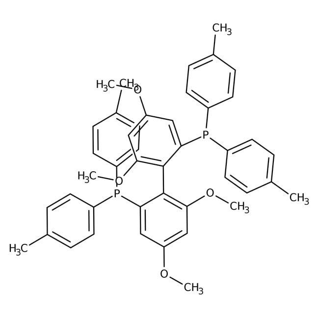 Alfa Aesar™(S)-2,2'-Bis(di-p-tolylphosphino)-4,4',6,6'-tetramethoxybiphenyl, 97+% 250mg Products