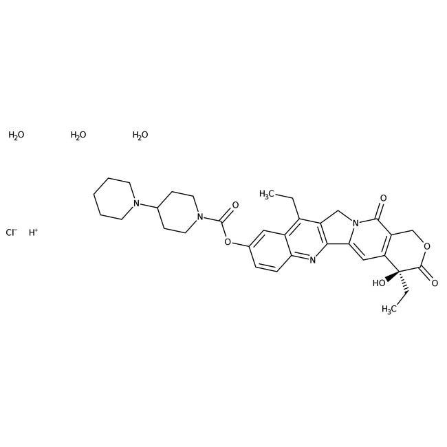 Irinotecan hydrochloride trihydrate, Acros Organics