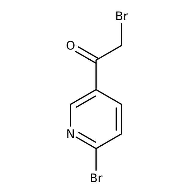 2-Bromo-1-(6-bromopyrid-3-yl)ethanone, 97%, Maybridge Amber Glass Bottle; 1g 2-Bromo-1-(6-bromopyrid-3-yl)ethanone, 97%, Maybridge