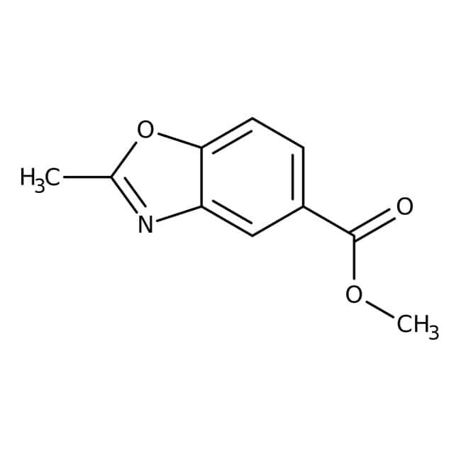 Methyl 2-methyl-1,3-benzoxazole-5-carboxylate, 97%, Acros Organics