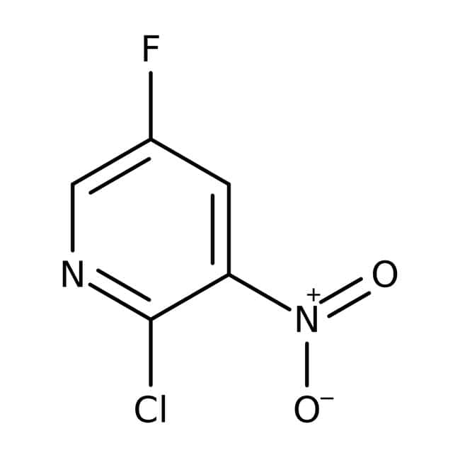 Alfa Aesar™2-Chloro-5-fluoro-3-nitropyridine, 95% 250mg Alfa Aesar™2-Chloro-5-fluoro-3-nitropyridine, 95%