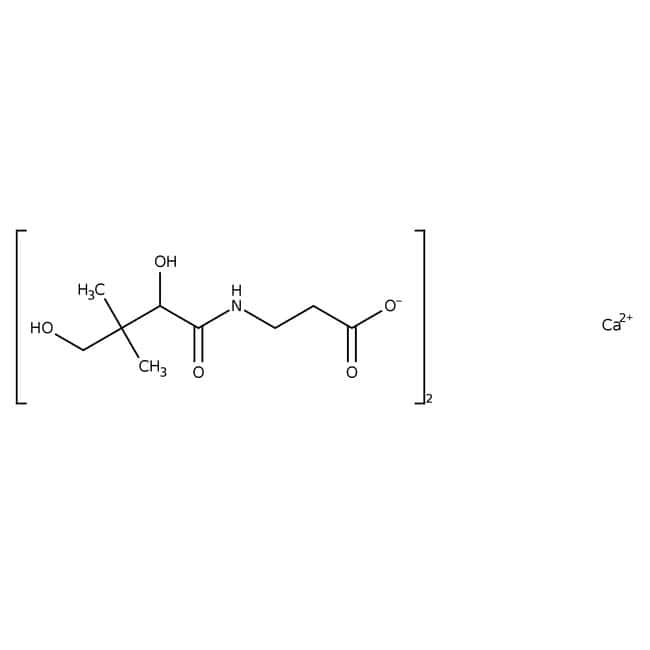 D-Calcium pantothenate, 98%, ACROS Organics™