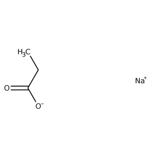Propionsäure, Natriumsalz, 99.0-100.5%, ACROS Organics™ 5kg; Kunststoffbehälter Propionsäure, Natriumsalz, 99.0-100.5%, ACROS Organics™