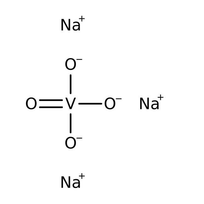 Sodium Orthovanadate, 96% min., (Powder), MP Biomedicals