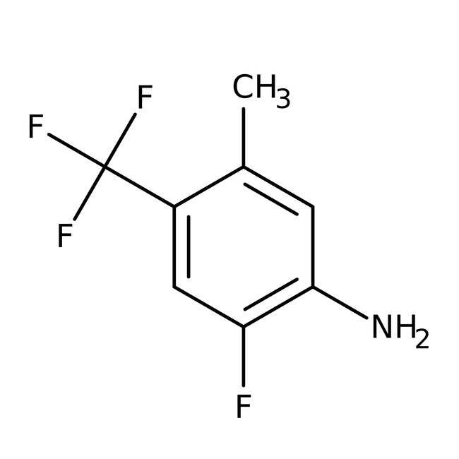 Alfa Aesar™ 2-Fluoro-5-methyl-4-(trifluoromethyl)aniline, 97% 250mg Alfa Aesar™ 2-Fluoro-5-methyl-4-(trifluoromethyl)aniline, 97%
