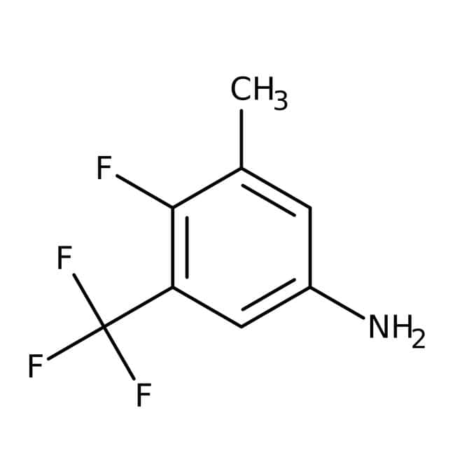 Alfa Aesar™4-Fluoro-3-methyl-5-(trifluoromethyl)aniline, 97% 5g Alfa Aesar™4-Fluoro-3-methyl-5-(trifluoromethyl)aniline, 97%