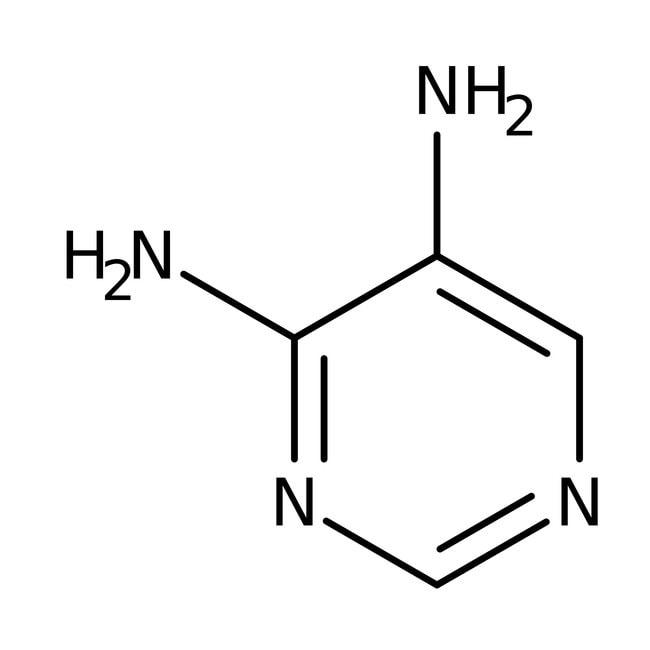 4,5-Diaminopyrimidin, 97%, ACROS Organics™ 1 g-Glasflasche Heterozyklische Bausteine