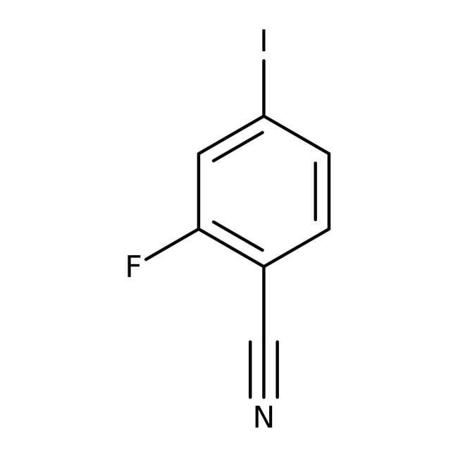 Alfa Aesar™2-Fluoro-4-iodobenzonitrile, 98%