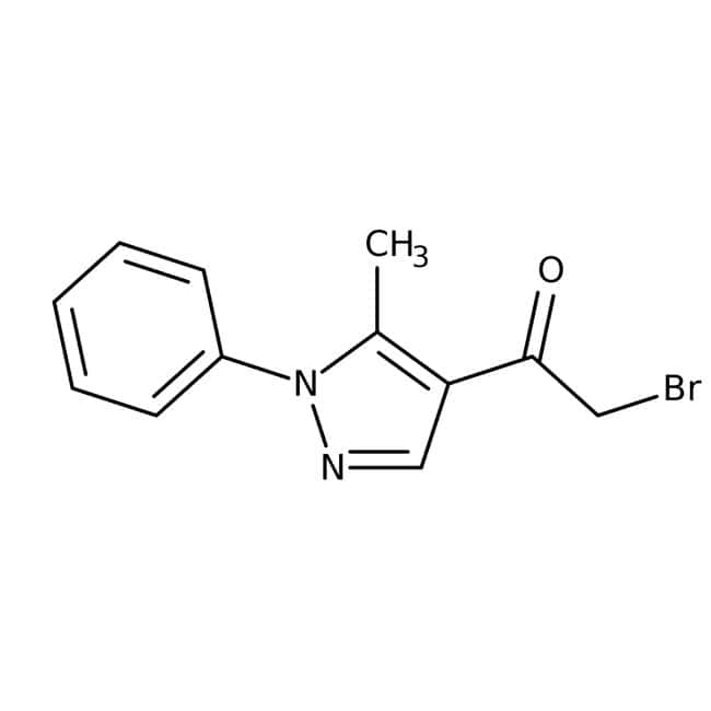 2-Bromo-1-(5-methyl-1-phenyl-1H-pyrazol-4-yl)-1-ethanone, ≥95%, Maybridge™