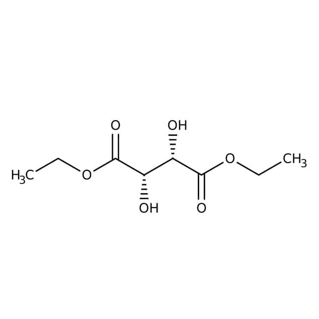 (-)-Diethyl D-tartrate, 99%, made from unnatural tartaric acid, ACROS Organics™