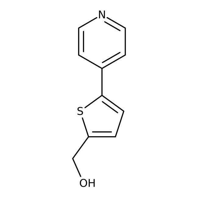 (5-pyrid-4-ylthien-2-yl)methanol, 95%, Maybridge™ Amber Glass Bottle; 250mg (5-pyrid-4-ylthien-2-yl)methanol, 95%, Maybridge™
