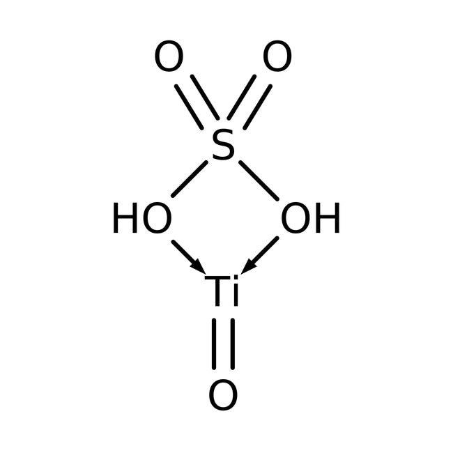 Titanium(IV) oxide sulfate sulfuric acid hydrate, Alfa Aesar™