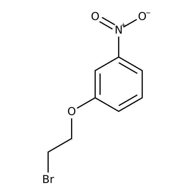 1-(2-Bromoethoxy)-3-nitrobenzene, 97%, ACROS Organics™ 5g; Glass bottle 1-(2-Bromoethoxy)-3-nitrobenzene, 97%, ACROS Organics™