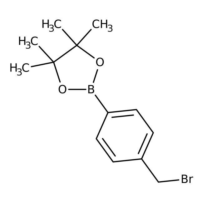 4-(4,4,5,5-Tetramethyl-1,3,2-dioxaborolan-2-yl)benzyl Bromide 98.0 %, TCI America
