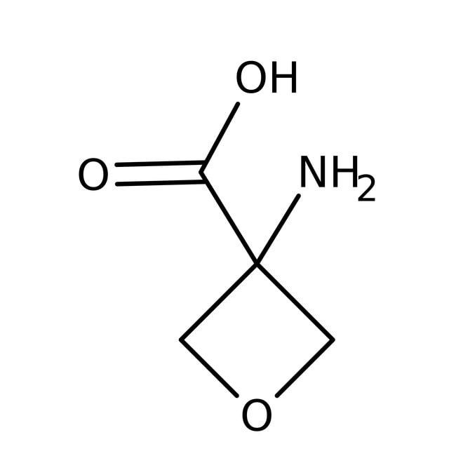 Alfa Aesar™Acide 3-amino oxétane-3-carboxylique, 95% 250mg Alfa Aesar™Acide 3-amino oxétane-3-carboxylique, 95%