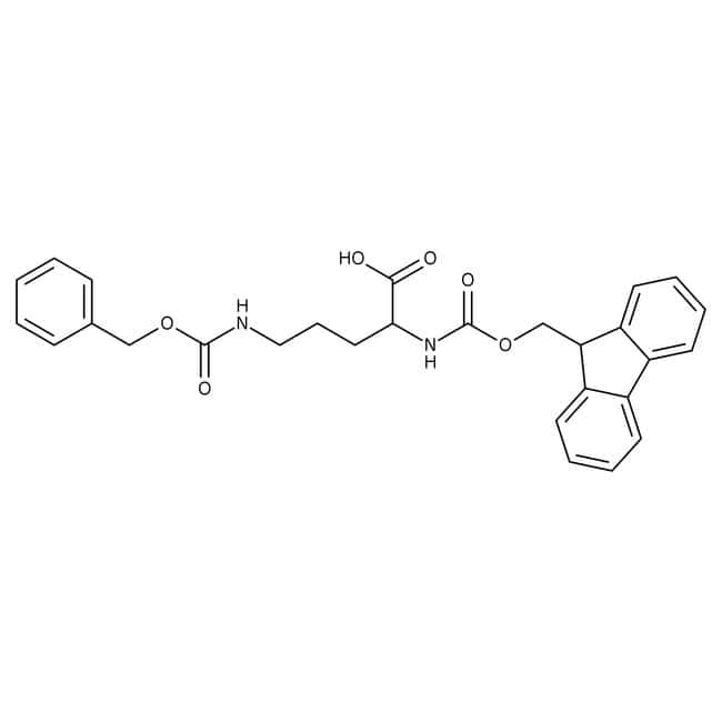 Alfa Aesar  Ndelta-Benzyloxycarbonyl-Nalpha-Fmoc-L-ornithine, 98%