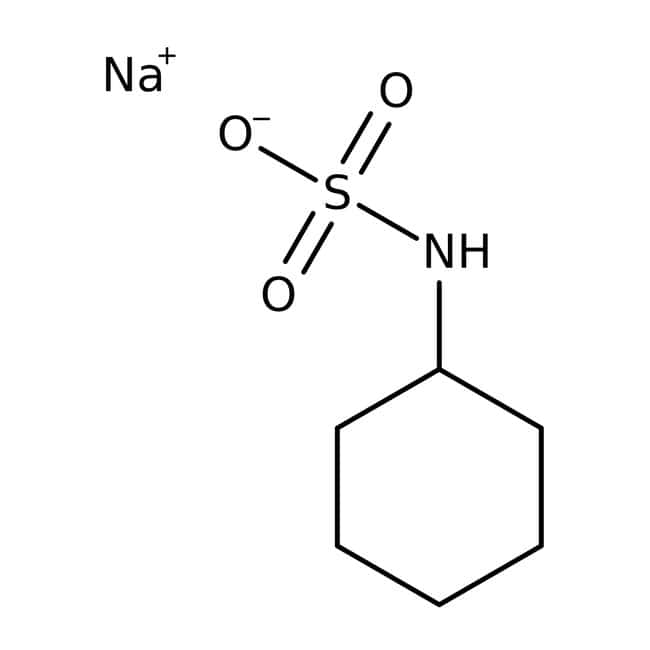 Sodium cyclamate, 99%, Acros Organics 1kg; Plastic bottle Sodium cyclamate, 99%, Acros Organics