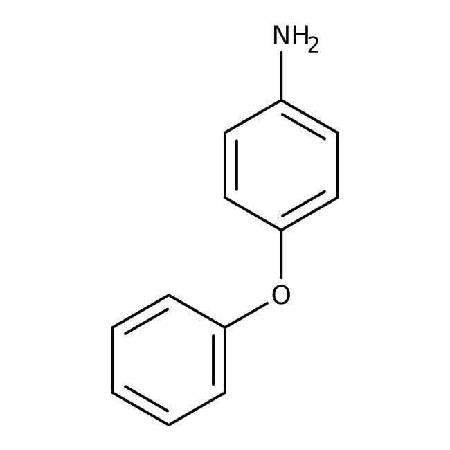 Alfa Aesar™4-Phenoxyaniline, 97%: Benzene and substituted derivatives Benzenoids