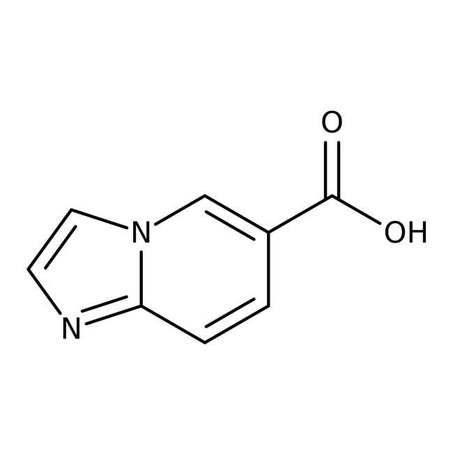 Imidazo[1,2-a]pyridine-6-carboxylic acid, 97%, ACROS Organics™