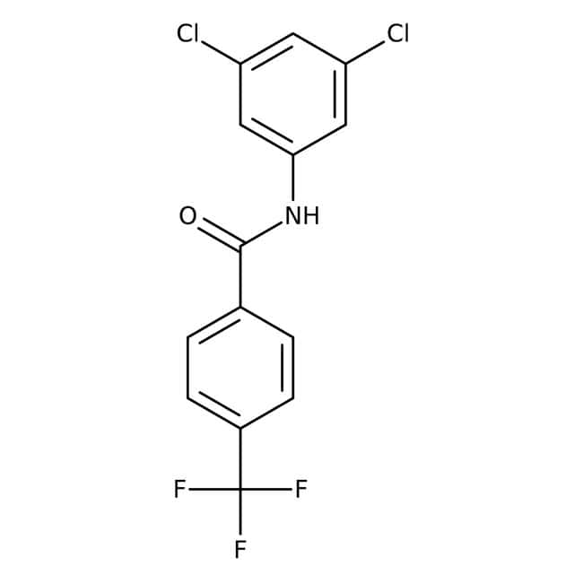 Alfa Aesar™N-(3,5-Dichlorphenyl)-4-(Trifluormethyl)Benzamid, 97% 1g Alfa Aesar™N-(3,5-Dichlorphenyl)-4-(Trifluormethyl)Benzamid, 97%