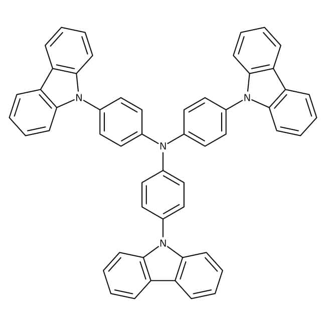 4,4',4''-Tris(carbazol-9-yl)triphenylamine, 99%, Acros Organics