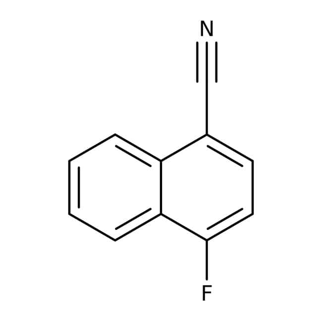 Alfa Aesar™4-Fluoronaftaleno-1-carbonitrilo, 97 % 25g Alfa Aesar™4-Fluoronaftaleno-1-carbonitrilo, 97 %