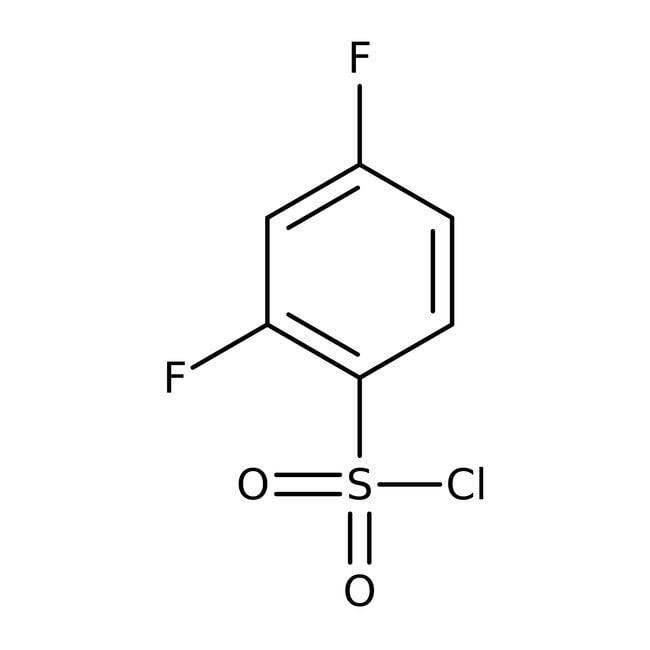 2,4-Difluorobenzenesulfonyl chloride, 98%, ACROS Organics