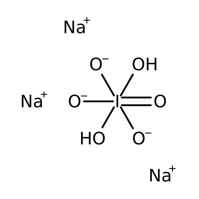 Sodium (para)periodate, 98%, ACROS Organics™ 500g; Glass bottle Sodium (para)periodate, 98%, ACROS Organics™