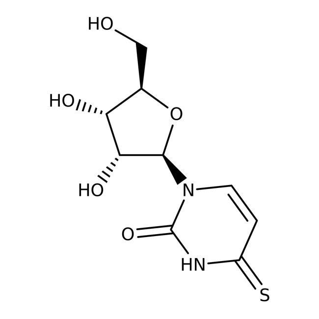 4-Thiouridine, 98+%; Alfa Aesar™