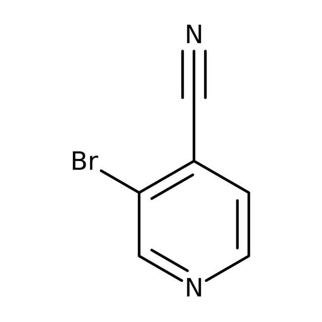 3-Bromo-4-cyanopyridine, 97%, Acros Organics 5g 3-Bromo-4-cyanopyridine, 97%, Acros Organics